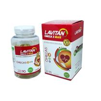 Lavitan Omega 369 Óleo De Linhaça E Gergelim Em Capsulas -