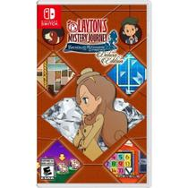 Laytons Mystery Journey: Katrielle and the Millionaires Conspiracy Deluxe Edition - Switch - Nintendo