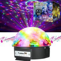 Led Magic Ball Light Mp3 Xtrad 3w-18w -