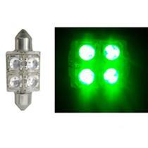 LED Torpedo 36MM 12V - 4 LED 10W - Verde (AP172) - Autopoli