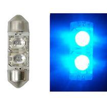 LED Torpedo 41MM 12V - 2 LED 5W - Azul (AP378) - Autopoli