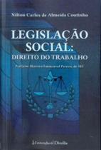 Legislaçao Social - Direito do Trabalho - Lumen juris - rj
