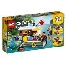 LEGO 31093 Creator - Casa Flutuante na Margem do Rio -