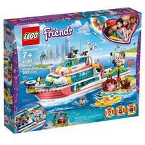 Lego 41381 Friends  Missão com o Barco de Resgate  908 peças -