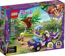 Lego 41421 Friends Resgate Na Selva Do Filhote De Elefante  203 peças -