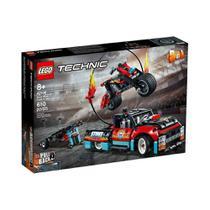 LEGO 42106 Technic  - Motocicleta e Caminhão de Acrobacias -