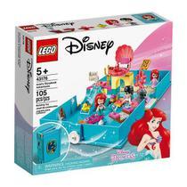 LEGO 43176 Disney Princess - Aventuras do Livro de Contos da Ariel -
