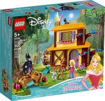 Lego 43188  Disney Princesas - Casa Da Floresta De Aurora - 300 peças -