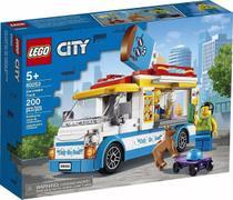Lego 60253 City - Van de Sorvetes  200 peças -