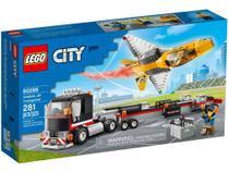 Lego 60289 City  Transportador de Avião de Acrobacias  Aéreas -