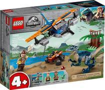 Lego 75942 Jurassic World - Velociraptor: Missão Resgate Com Biplano  101 peças -