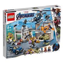 Lego 76131 Avengers Ultimato - Combate No Quartel dos Vingadores - 699 peças -
