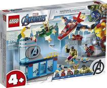 Lego 76152 Marvel Avengers - Vingadores A Ira De Loki  223 peças -