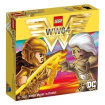 Lego 76157 - Mulher Maravilha Vs Cheetah - 371 Peças -