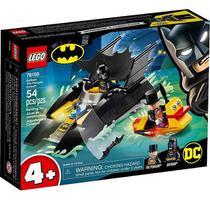 Lego 76158 Dc Batman Perseguição De Pinguim Em Batbarco  54 peças -