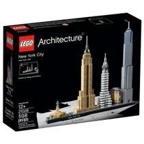 Lego Architecture New York City EUA 598 Peças 21028 -