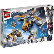 Lego Avengers 76144 - Resgate de Helicóptero dos Vingadores Hulk -