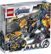 LEGO Avengers - Disney - Marvel - Vingadores Ataque Ao Caminhão - LEGO 76143 -