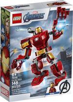 Lego Avengers  - Vingadores Robô Home de Ferro  148 peças -