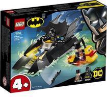 Lego Batman Perseguição de Pinguim em Batbarco - Lego 76158 -