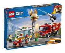 Lego City 60214 Resgate na Hamburgueria Original Lacrado -
