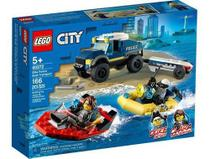 Lego City 60272 - Transporte De Barco Da Policia De Elite - Mga