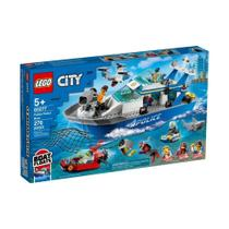 LEGO City - 60277 - Barco da Patrulha da Polícia -