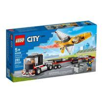 LEGO City - 60289 - Transportador de Avião de Acrobacias Aéreas -