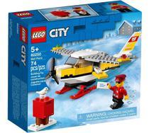 Lego City Avião Correio 74 Peças Original - 60250 -