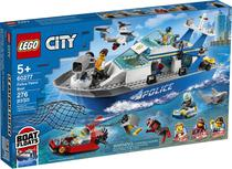 Lego City - Barco da Patrulha da Polícia - 60277 -