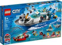 Lego City Barco de Patrulha da Polícia - Lego 60277 -