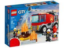 LEGO City Caminhão dos Bombeiros com Escada - 88 Peças 60280