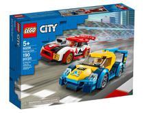 Lego City Carros De Corrida 190 Peças - 60256 -