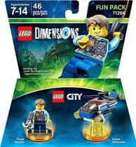 Lego City Chase McCain Fun Pack - Lego Dimensions - Warner Bros