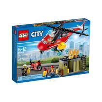 LEGO-CITY Corpo de Intervenção dos Bombeiros 257 peças 60108 -