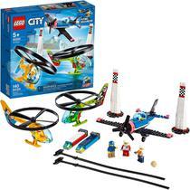 Lego City Corrida Aérea Avião E Helicópteros 60260 Original -
