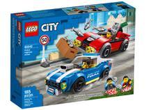 LEGO City Detenção Policial na Autoestrada - 185 Peças 60242