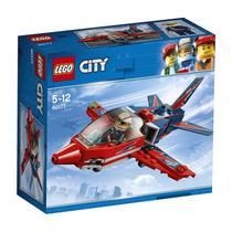 LEGO City Espetáculo aéreo Avião a jato 60177 -