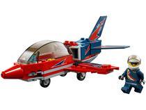 LEGO City Espetáculo Aéreo de Avião à Jato - 87 Peças 60177