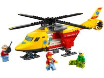 LEGO City Helicóptero-Ambulância - 190 Peças 60179