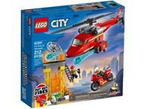 LEGO City Helicóptero de Resgate dos Bombeiros - 212 Peças 60281