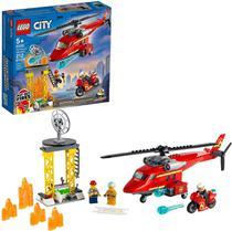 Lego City Helicóptero Resgate dos Bombeiros 212 Peças 60281 -