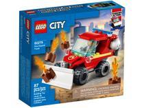 LEGO City Jipe de Assistência dos Bombeiros - 87 Peças 60279