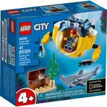 LEGO City - Mini Submarino Oceânico - 60263 -