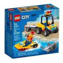 Lego City Off-road De Resgate Na Praia - 60286 -