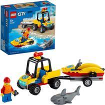 Lego city off-road de resgate na praia 60286 -