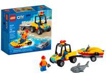 LEGO City Off-Road de Resgate na Praia 79 Peças - 60286