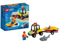 LEGO City Off-Road de Resgate na Praia 79 Peças - 60286 -