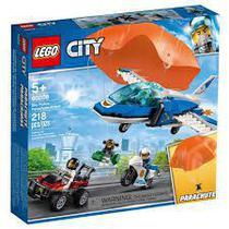 Lego CITY - Polícia Aérea Detenção de PARA-QUEDAS - 60208 -