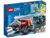 LEGO City Polícia de Elite: Perseguição de Carro - Perfurador 179 Peças 60273